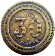 30 Centimes - A Consommer – reverse
