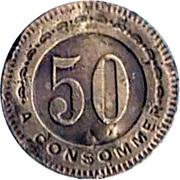 50 Centimes - L'Eclair La Garenne – reverse