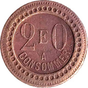 20 Centimes - A Consommer (E) – reverse