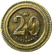 20 Centimes - A Consommer (Elephant) – reverse