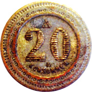 20 Centimes - A Consommer – reverse