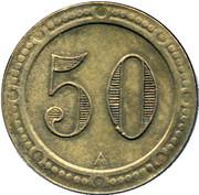 50 Centimes - Marius (Paris) – reverse