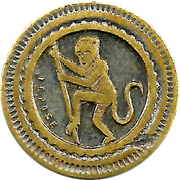 30 Centimes - A Consommer (Monkey) – obverse
