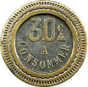 30 Centimes - A Consommer (Monkey) – reverse