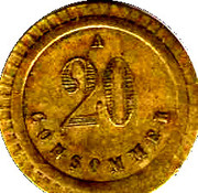 20 Centimes - A Consommer (Turtle) – reverse