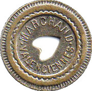 30 Centimes - Marchand (Valenciennes) – obverse