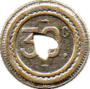 30 Centimes - Marchand (Valenciennes) – reverse