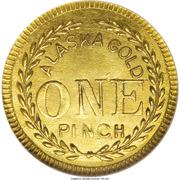 1 Pinch - Alaska Gold (Head Right 16 Stars) – reverse