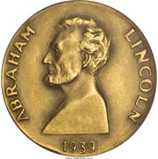 So-called-dollar - Abraham Lincoln (New York World's Fair) – obverse