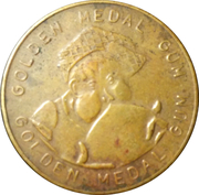 Golden Medal Gum (Marathon) – reverse