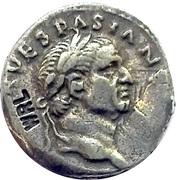 Replica WRL - Reproduction Denarius of Vespasian (Titus and Domitian) – obverse