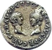 Replica WRL - Reproduction Denarius of Vespasian (Titus and Domitian) – reverse