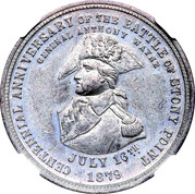 Dollar - Centennial Battle of Stony Point – obverse
