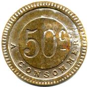 50 Centimes - Stella – reverse