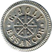 75 Centimes - G.Joly (Besançon) – obverse