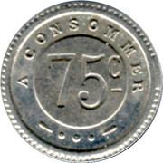 75 Centimes - G.Joly (Besançon) – reverse