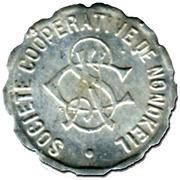 5 Centimes - Société Coopérative de Nondkeil (Ottange) – obverse