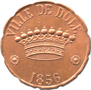 Token - Dessert Association Alimentaire (Ville de Dole) – obverse