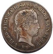 20 Krajczár - Ferdinand V (War of Independence - Spy version for messaging) – obverse
