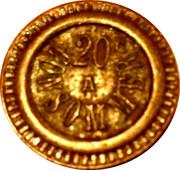 20 Centimes - Societe Phenix (Paris) – reverse
