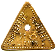 1 Pain - Cooperative Ouvriere N°3 (Lievin) – obverse
