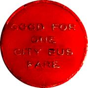 1 City Bus Fare - Webb's City (St. Peterburg, FL) – reverse