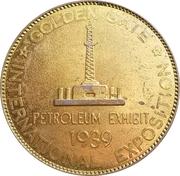 Token - Golden Gate Exposition (Petroleum exhibit - Type II) – obverse