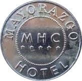 Token - Mayorazgo Hotel Casino – obverse