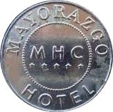Token - Mayorazgo Hotel Casino – reverse