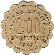 2 Francs - Société Coopérative (Amplepuis) – obverse