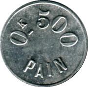 500 Grammes de Pain - Coopérative (Thaon) – reverse