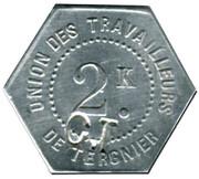 2 Kilos - Société Coopérative de Tergnier – reverse