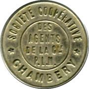 50 Centimes - Société Coopérative des Agents de la Compagnie P.I.M (Chambery) – obverse