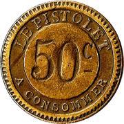 50 Centimes - Le Pistolet – reverse