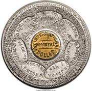 Dollar - Dana Bickford of New York City (US Grant) – reverse