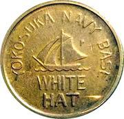 Token - White Hat (Yokosuka, Japan) – obverse
