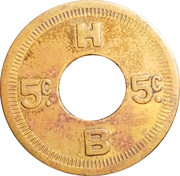 5 Cents - HB – reverse