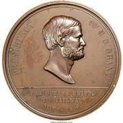 Dollar - Pacific Railroad Completion – obverse