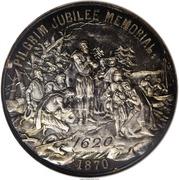 Dollar - Pilgrim Jubilee Memorial – obverse