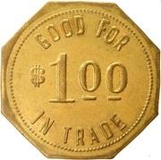 1 Dollar - Cummins State Farm (Cummins Unit, Arkansas) – reverse
