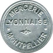 5 Centimes (Bon Pour) - Mercerie Lyonnaise - Montpellier [34] – obverse