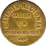 5 Centimes - L'Avenir Régional- Lyon [69] – obverse