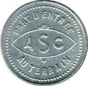 5 Centimes - Association Sportive de Carcassonne [11] – obverse