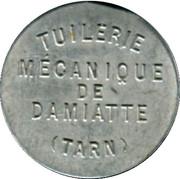 5 Centimes - Tuilerie Mécanique de Damiatte [81] – obverse