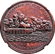 Dollar - Bombardment of Fort Sumter (Type II) – obverse