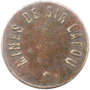 5 Centimes - Mines de Bir Lafou – obverse