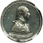 Dollar - U.S. Centennial Exposition (Independance Hall; George Washington) – reverse