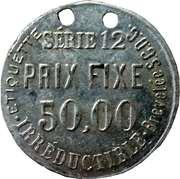 50,00 Prix Fixe - Parapluie Revel – reverse