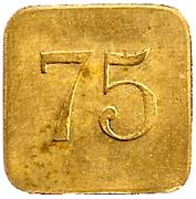 Jeton 75  B.D – obverse