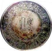 1 franc - Musée Scolaire Emile Deyrolle - Paris [75] – reverse